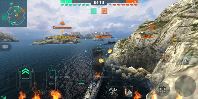 Обзор World of Warships Blitz