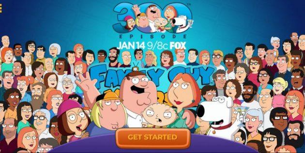 Телеканал Fox запустил сайт, где можно создать своего персонажа в стиле «Гриффинов»