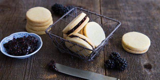 Рецепты печенья: сахарные-сэндвичи