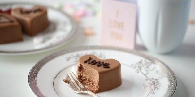 Что приготовить на 14 февраля: Шоколадный мусс