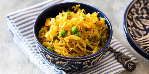 Блюда из капусты: Тушёная капуста по-индийски