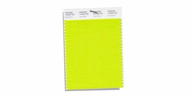 Модные цвета 2018: Lime Punch