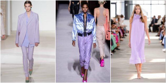 Модные цвета 2018: Pink Lavender