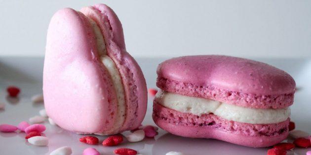 Рецепты на 14 февраля: Макарон-сердечко