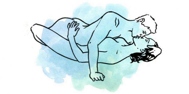Позы в сексе и что они означают