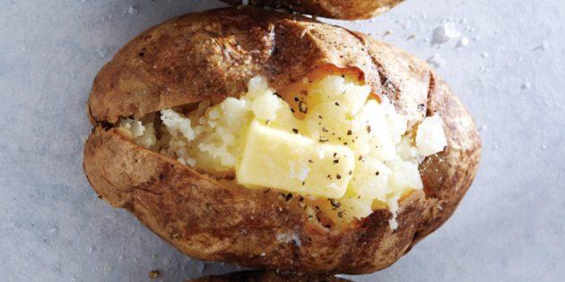 Классическая запечённая картошка