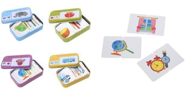 Детская игра с карточками