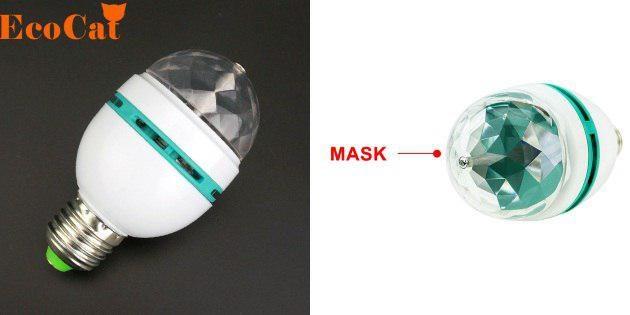 Лампочка-проектор