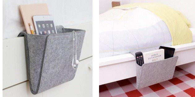 Органайзер для кровати