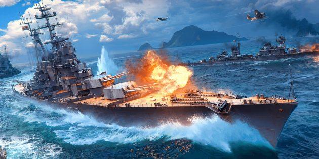 World of Warships Blitz — корабельные онлайн-сражения для Android и iOS