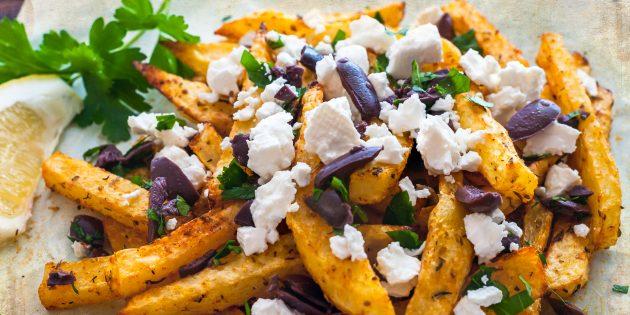 Как приготовить картошку в духовке: Картофель по-гречески с лимонно-йогуртовым соусом