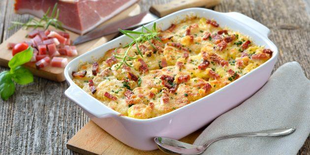 Как приготовить картошку в духовке: гратен от Джейми Оливера