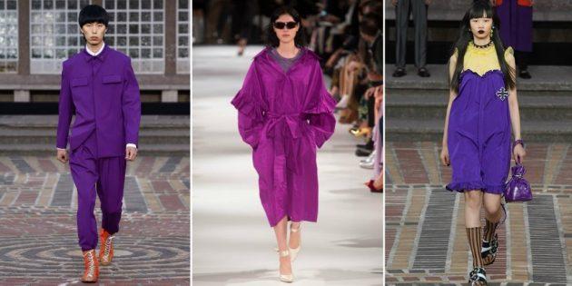 Модные цвета 2018 года: Ultra Violet