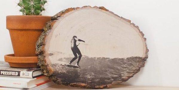 Как сделать подарки на 23 Февраля своими руками: Фотография на дереве