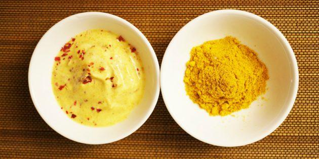 Чем заменить майонез, если вы на диете: Соус йогуртовый с карри