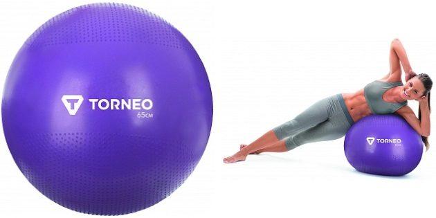 Оригинальные подарки на 8 Марта: Мяч гимнастический Torneo 65 см