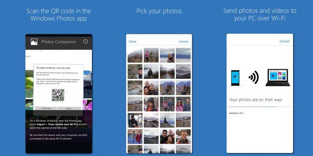 Microsoft выпустила приложение для переноса фотографий со смартфона на Windows 10
