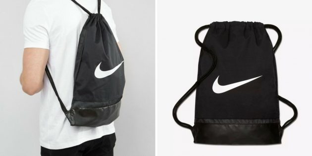 Оригинальные подарки на 23 Февраля: спортивная сумка
