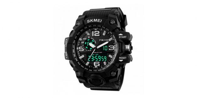 Skmei 1155 Men LED Digital Quartz Watch