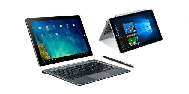 бюджетные планшеты: Chuwi Hi10 Pro с клавиатурой
