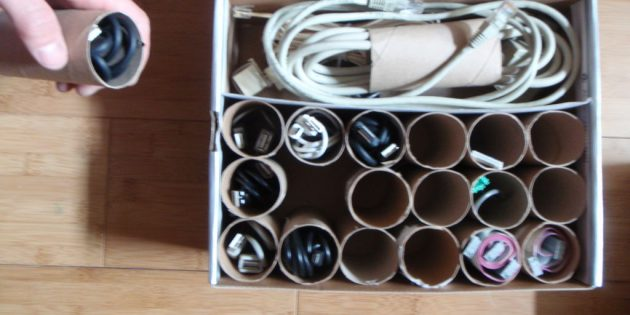 Втулки от туалетной бумаги