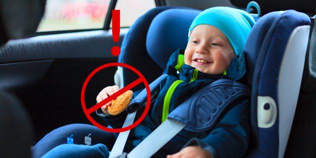 7 правил безопасной перевозки детей в автомобиле