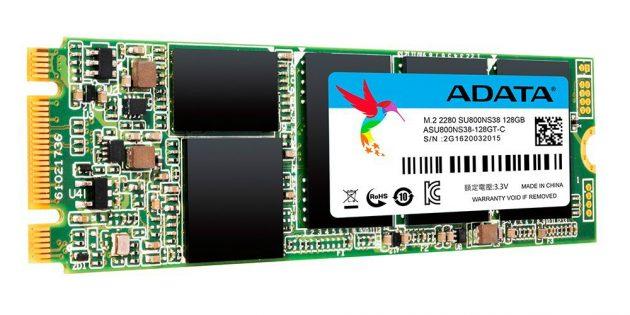 Какой SSD лучше: SSD M.2 ADATA SU800