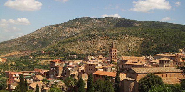 города Италии: Тиволи