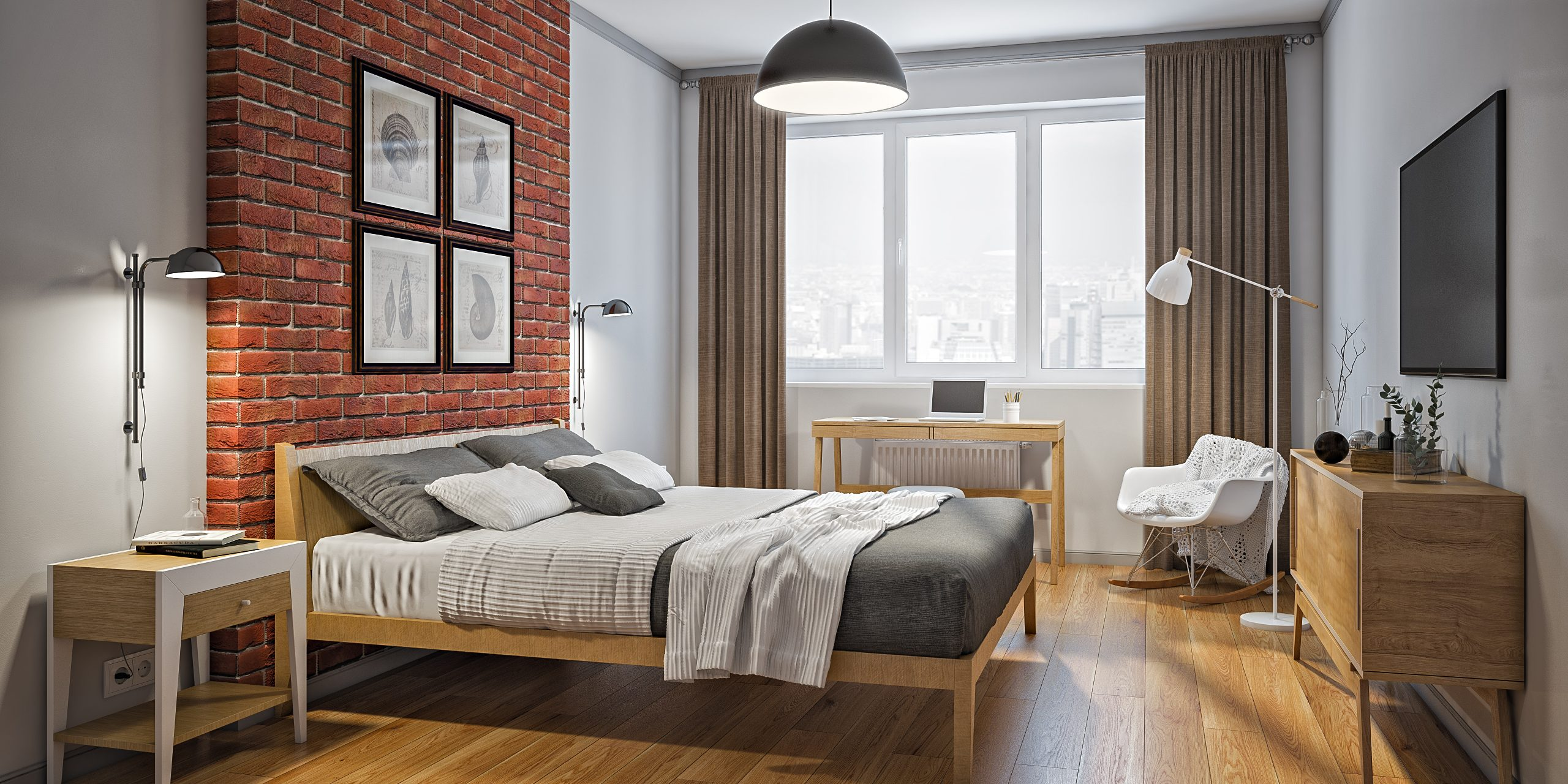 Оформление и дизайн спальни секси