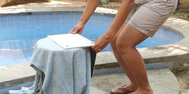 Что делать, если на ноутбук попала вода