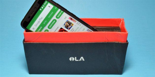 iLA X: коробка