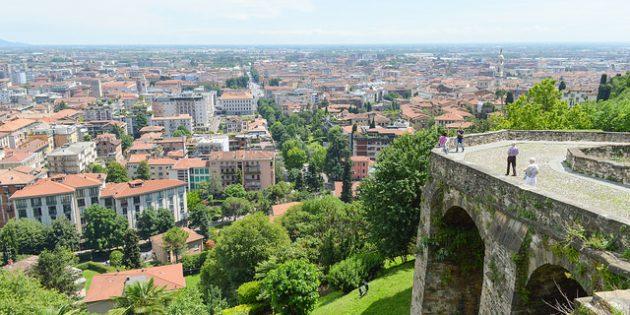 города Италии: Бергамо