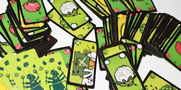 Настольные игры: «Тараканий салат»