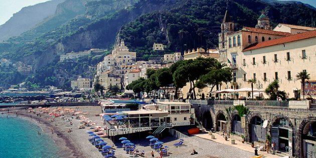 города Италии: Амальфи