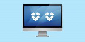 Как использовать две учётные записи Dropbox на одном компьютере