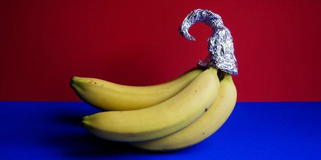 Храните бананы дольше