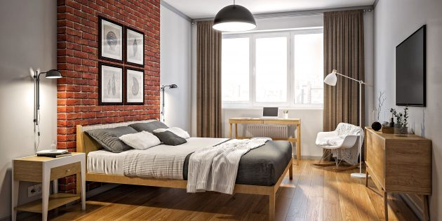 5 модных вариантов дизайна спальни на любой вкус и кошелёк