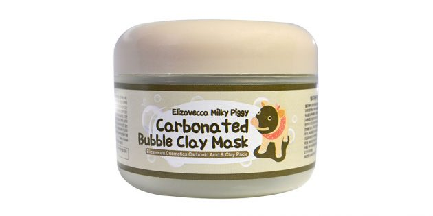 Пузырьковая глиняная маска Elizavecca Milky Piggy