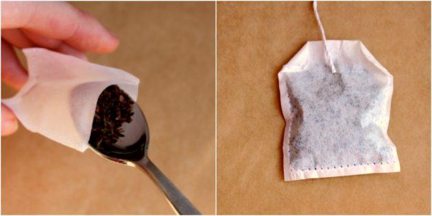 Подарки на 8 Марта своими руками: Чайные пакетики с фотографиями