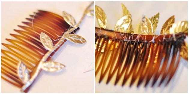 Подарки на 8 Марта своими руками: Золотой гребень