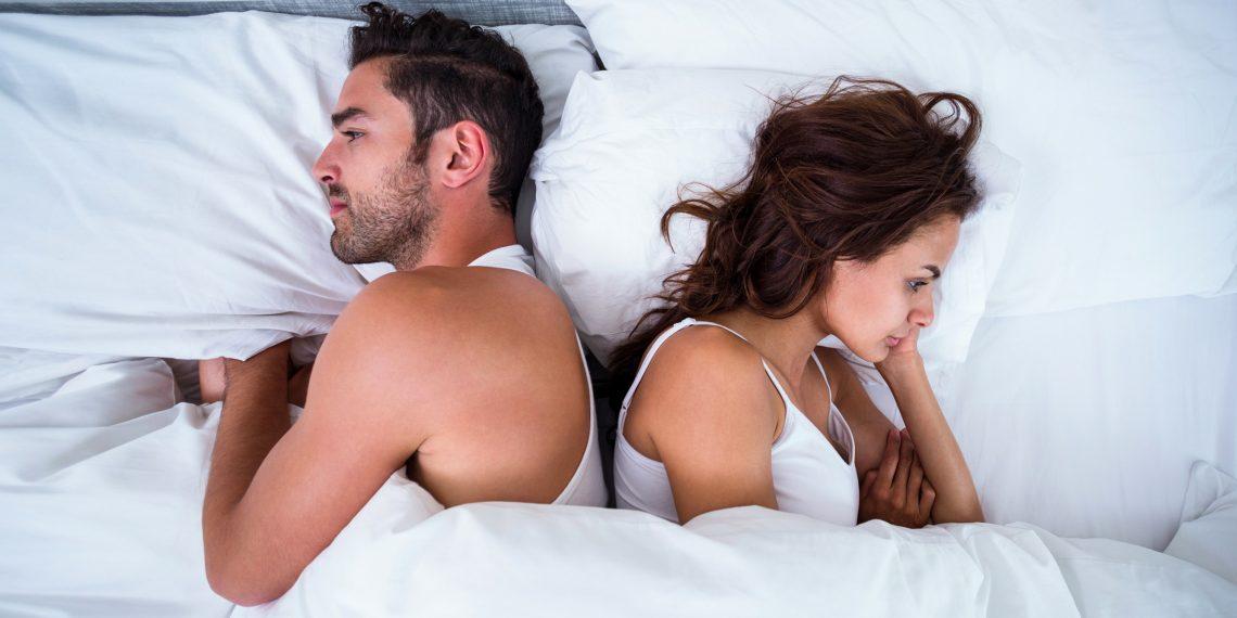 Возникает апатия во время секса