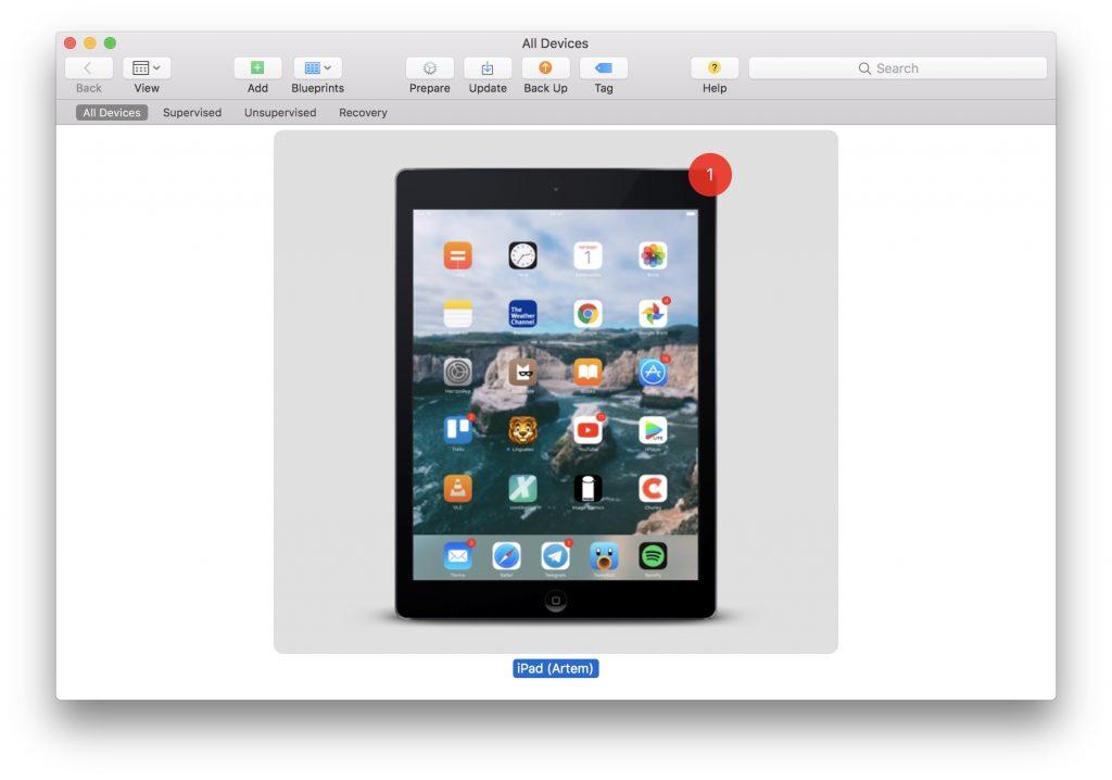 Подключаем iOS-устройство