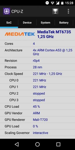 iLA X: процессор