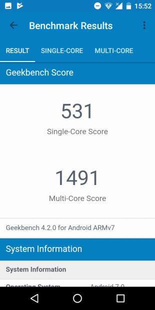 iLA X: Geekbench