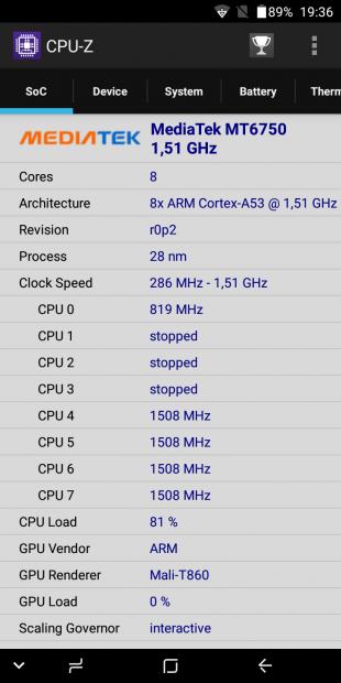 UMIDIGI S2 Lite: процессор