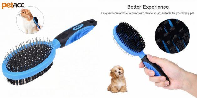 Щётка для вычёсывания собак
