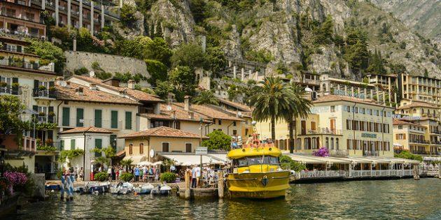 города Италии: Лимоне-суль-Гарда
