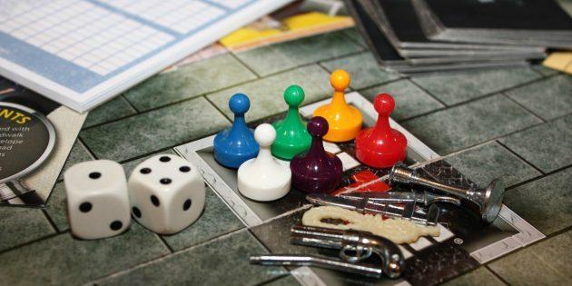 Настольные игры: «Клюедо»