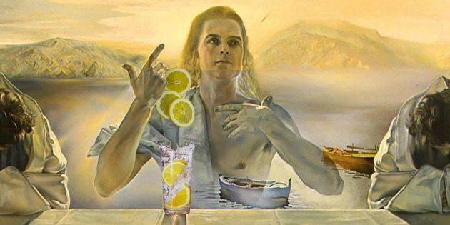 Вода с лимоном — это просто вода с лимоном