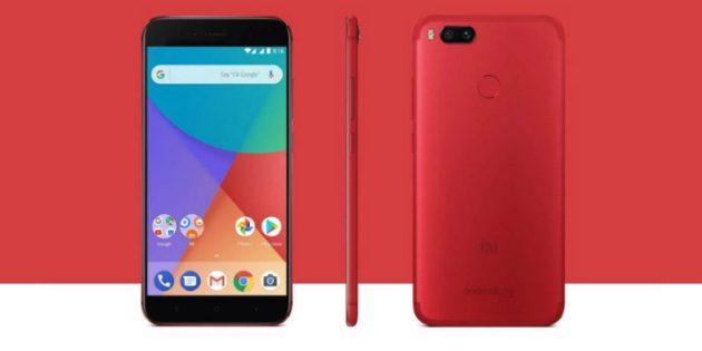 Подарки на 8 Марта: Смартфон Xiaomi Mi A1